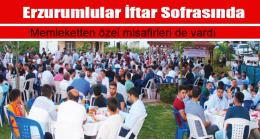 Erzurumlular İftar Sofrasında
