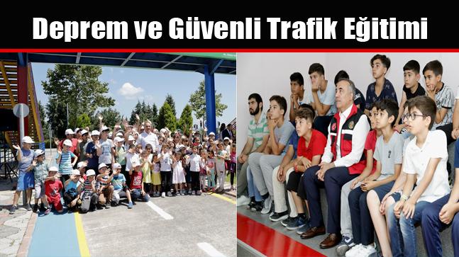 Deprem ve Güvenli Trafik Eğitimi