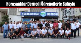 Horasanlılar Derneği Öğrencilerle Buluştu