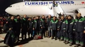 Arnavutköy Belediyesi Kurtarma Ekibi Elazığ'a Gitti