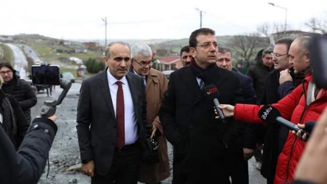 Ekrem İmamoğlu Arnavutköy'ü Ziyaret Etti