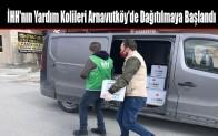 İHH'nin Yardım Kolileri Arnavutköy'de İhtiyaç Sahiplerine Dağıtılmaya Başlandı