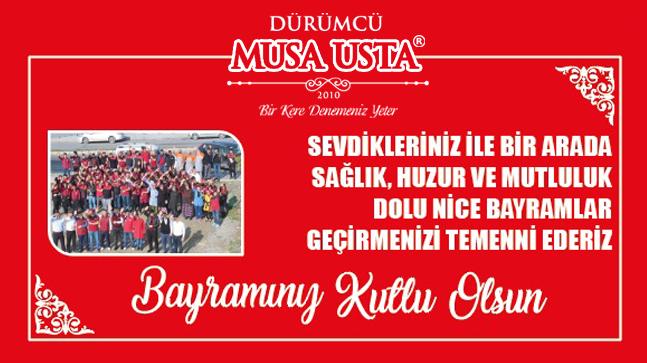 Dürümcü Musa Usta'dan Ramazan Bayramı Mesajı