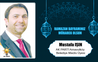 Mustafa Işın'ın Ramazan Bayramı Mesajı