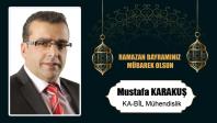 Mustafa Karakuş'un Ramazan Bayramı Mesajı
