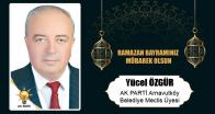 Yücel Özgür'ün Ramazan Bayramı Mesajı