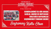 Dürümcü Musa Usta'nın Kurban Bayramı Mesajı