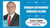 İsmail Yaşar'ın Kurban Bayramı Mesajı