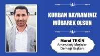 Murat Tekin'in Kurban Bayramı Mesajı