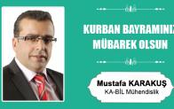 Mustafa Karakuş'un Kurban Bayramı Mesajı
