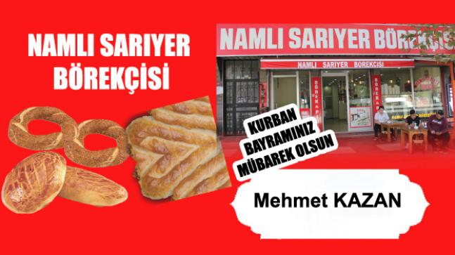 Mehmet Kazan'ın Kurban Bayramı Mesajı