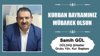 Samih Gül'ün Kurban Bayramı Mesajı