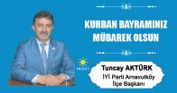 Tuncay Aktürk'ün Kurban Bayramı Mesajı