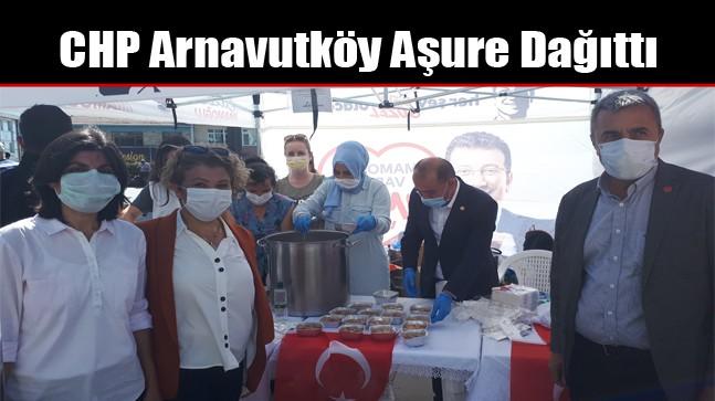 CHP Arnavutköy Aşure Dağıttı