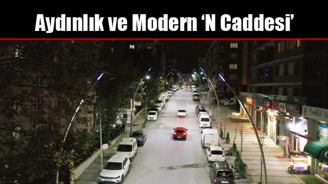 Aydınlık ve Modern 'N Caddesi'
