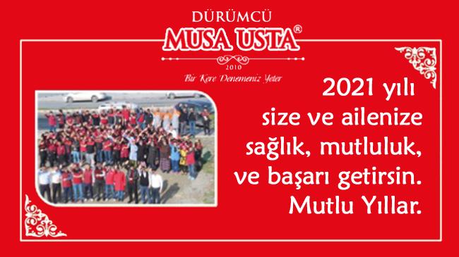 Dürümcü Musa Usta'nın Yeni Yıl Mesajı