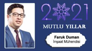 Faruk Duman'ın Yeni Yıl Mesajı