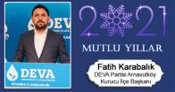 Fatih Karabalık'ın Yeni Yıl Mesajı