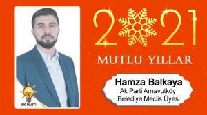 Hamza Balkaya'nın Yeni Yıl Mesajı