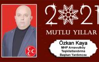 Özkan Kaya'nın Yeni Yıl Mesajı