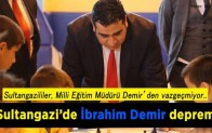 Sultangazi'de İbrahim Demir depremi