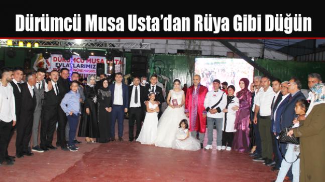 Dürümcü Musa Usta'dan Rüya Gibi Düğün