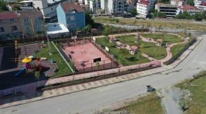 Hamidiye Parkı Yenilendi