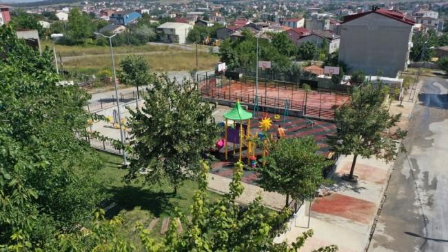 Osman Gazi Parkı Yenilendi