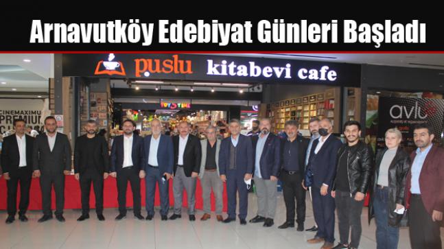 Arnavutköy Edebiyat Günleri Başladı