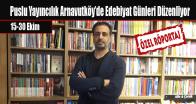 Puslu Yayıncılık Arnavutköy'de Edebiyat Günleri Düzenliyor