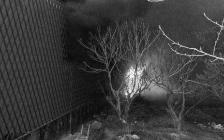 Haraççı Kapalı Pazar Yeri İnşaatında Yangın